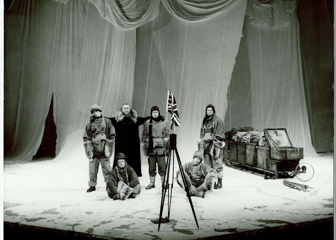 Production photograph - Terra Nova - Company - Photographer Zoe Dominic - 1980 - 1 of 2