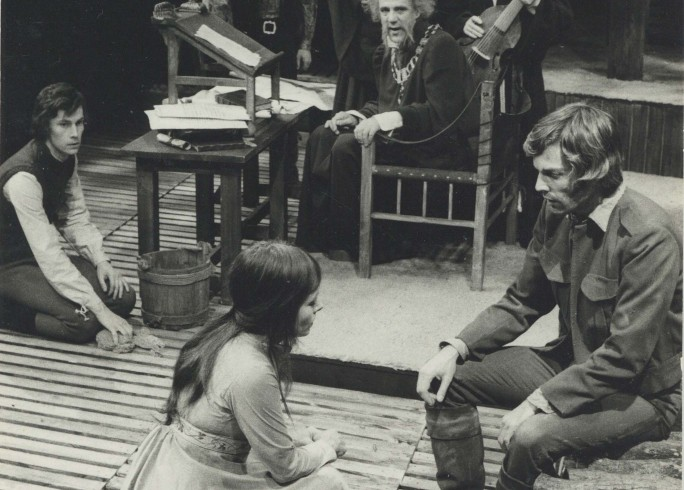 Production photograph -The Lady's Not for Burning - Photographer John Timbers - 1972 - H25xW17cm - 1 of 2