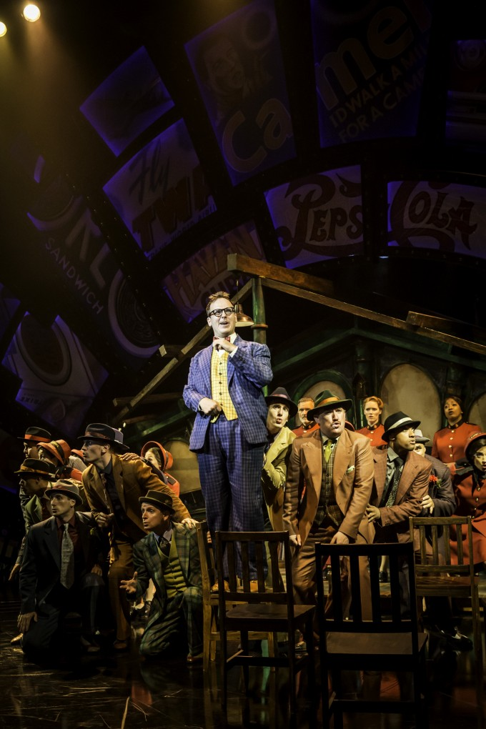 GUYS AND DOLLS,                              , Music and lyrics - FRANK LOESSER.,  Book - JO SWERLING and ABE BURROWS, Director Gordan Greenberg,  Choreographer - Carlos Acosta, Designer - Peter MaKintosh,  Chichester Festival Theatre, 2014, Credit: Johan Persson/