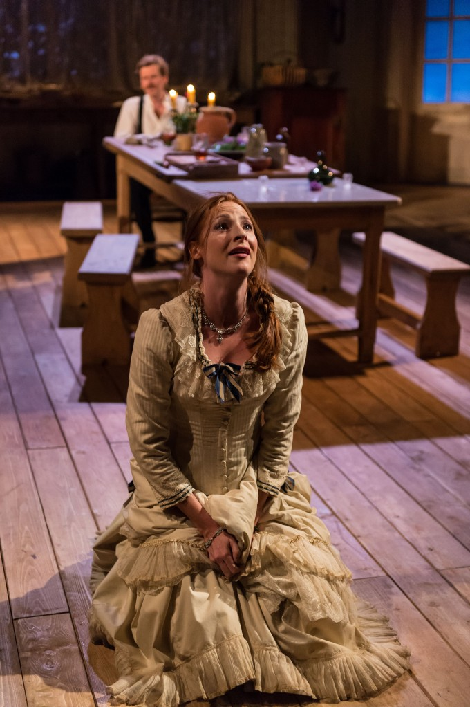 Production photograph - Miss Julie - Rosalie Craig - Photographer Manuel Harlan - 2014 - 2 of 2
