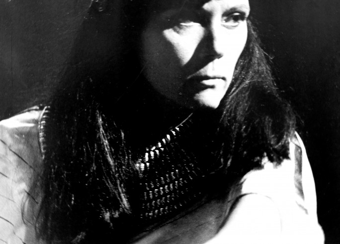 Production photograph - Antony and Cleopatra - Diana Rigg - Photographer Reg Wilson - 1985 - Mounted on board