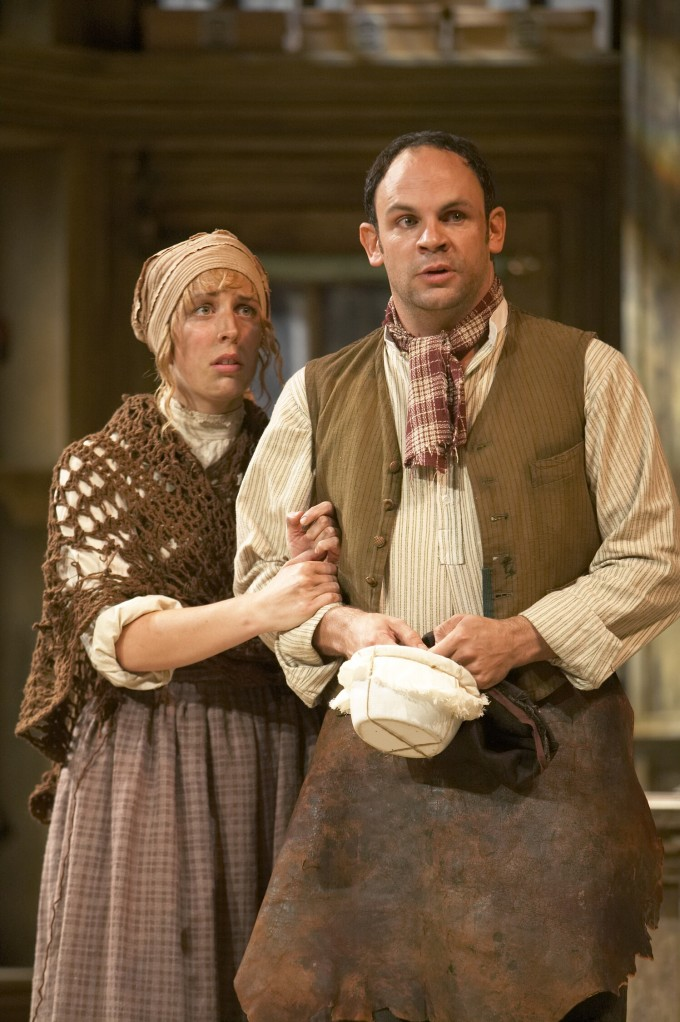 Production photograph - Hobson's Choice - Lizzie Winkler, Dylan Charles - photographer Manuel Harlan - 2007