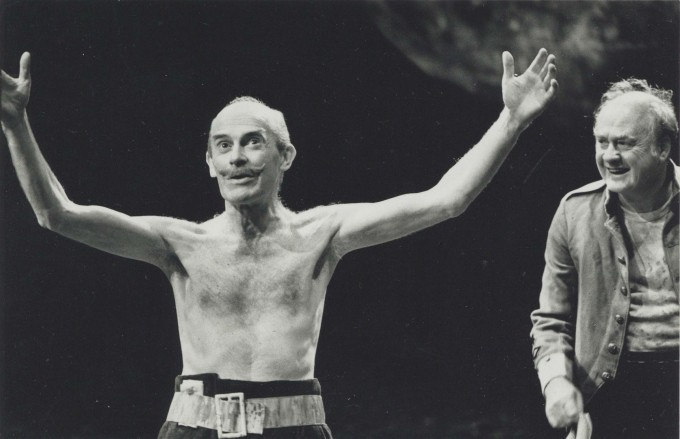 Production photograph - Love's Labour's Lost - John Rogan, Stanley Page - Photographer unknown -1989 - H20xW27.5cm