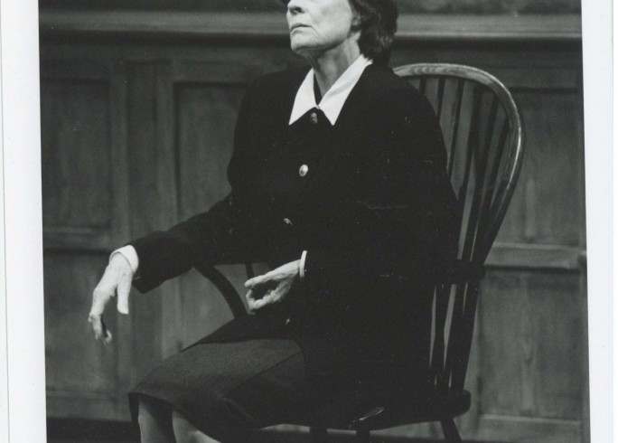 Production photograph - Talking Heads - Maggie Smith - photographer John Timbers - 1996