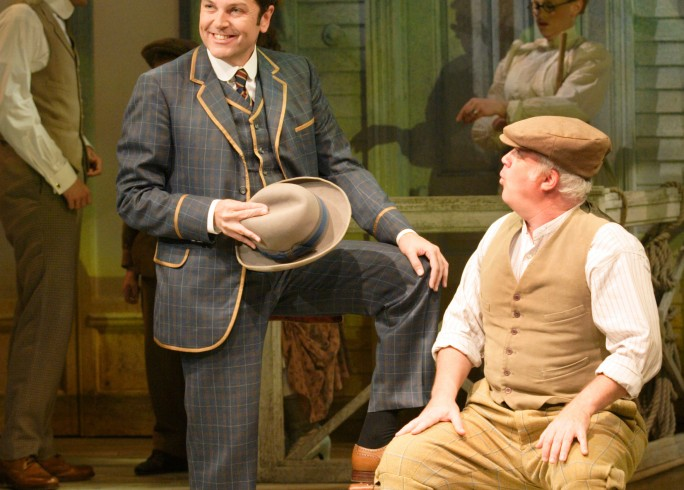 Production photograph - The Music Man - Brian Conley, Andy Hockley - Photographer Catherine Ashmore - 2008