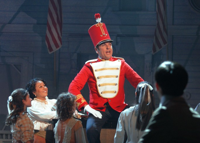 Production photograph - The Music Man - Brian Conley - Photographer Catherine Ashmore - 2008 - 2 of 6