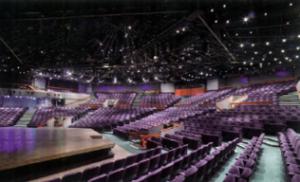 The inside of the Theatre auditorium