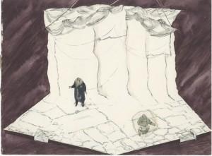 Set design for Terra Nova, 1980 posted with kind permission of Pamela Howard