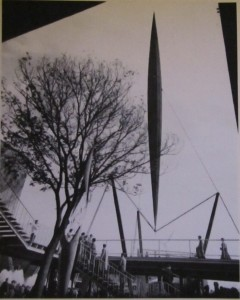 Powell and Moya's  Skylon for the Festival of Britain 1951