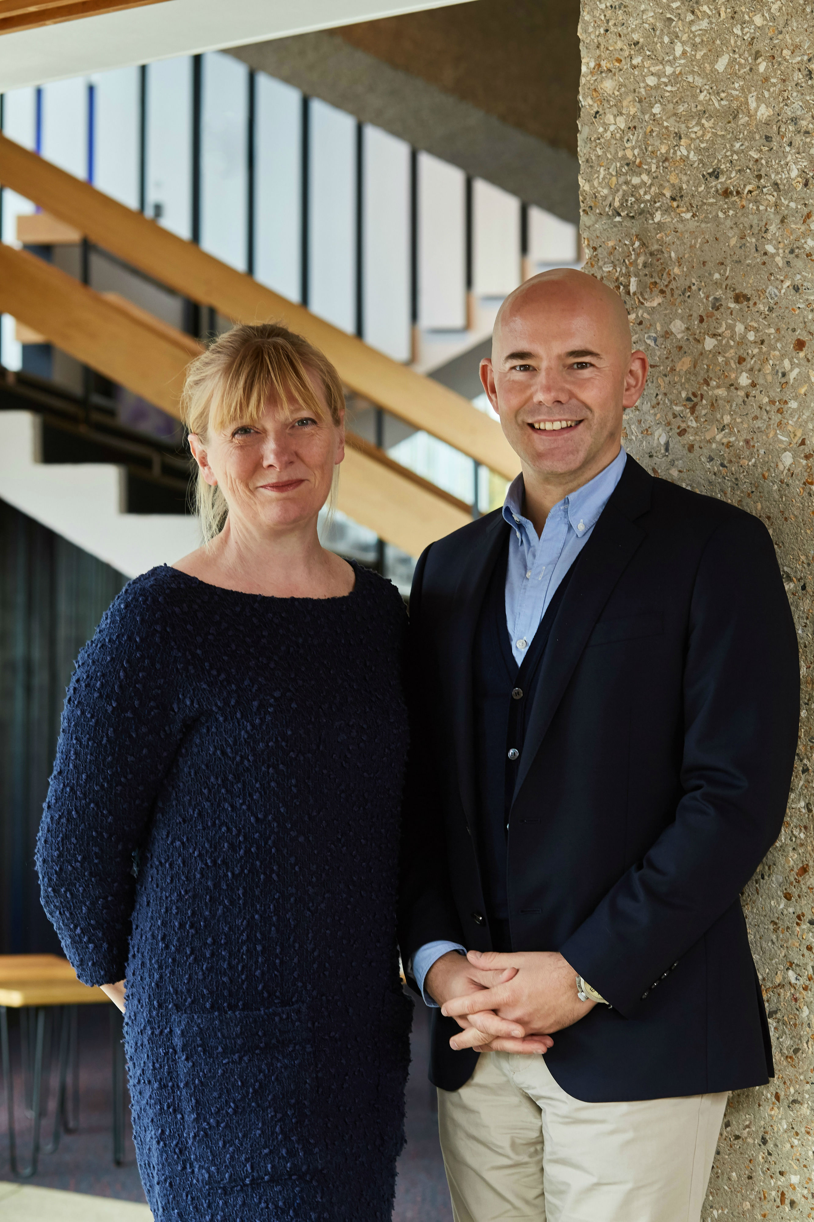 1. Chichester Festival Theatre's Executive Director Rachel Tackley and Artistic Director Daniel Evans. Photo by Tobias Key. IMG_5706