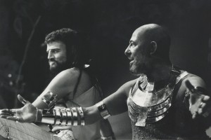 1974 Oedipus Tyrannus Keith Michell, Alfred Marks  (photography by Mark Gudgeon)