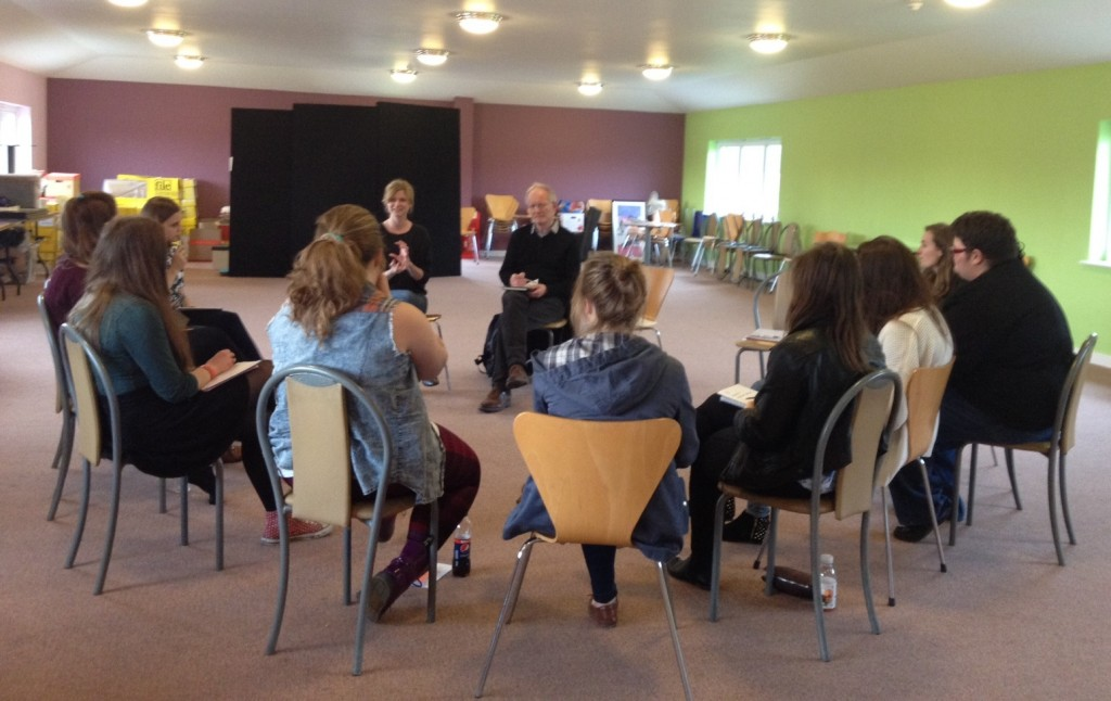 Youth Theatre, Rib Davis, Pass It On, Interviews