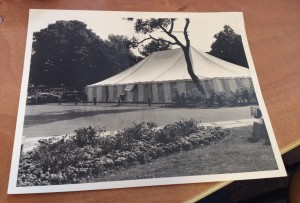 Chichester Festival Theatre The Tent 1987