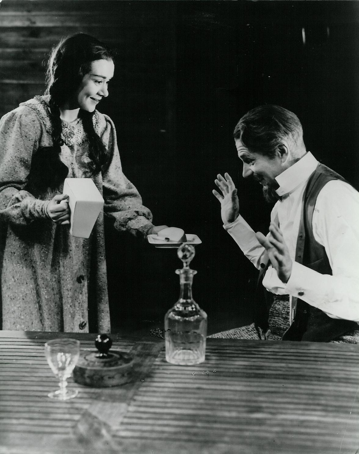 Joan Plowright & Laurence Olivier