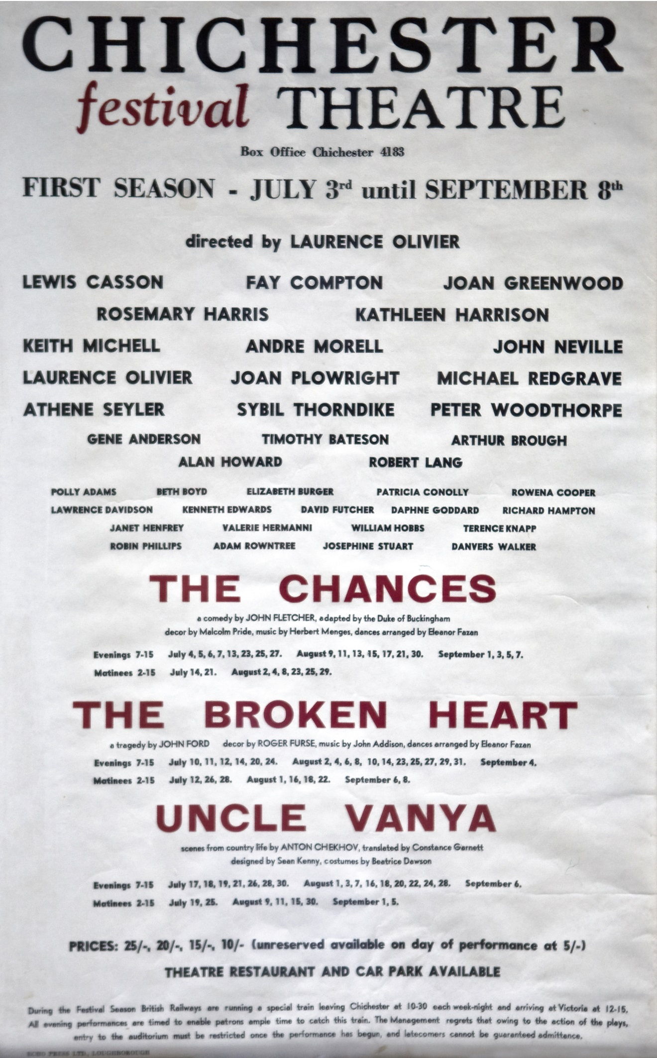 CFT 1962 First Season Poster