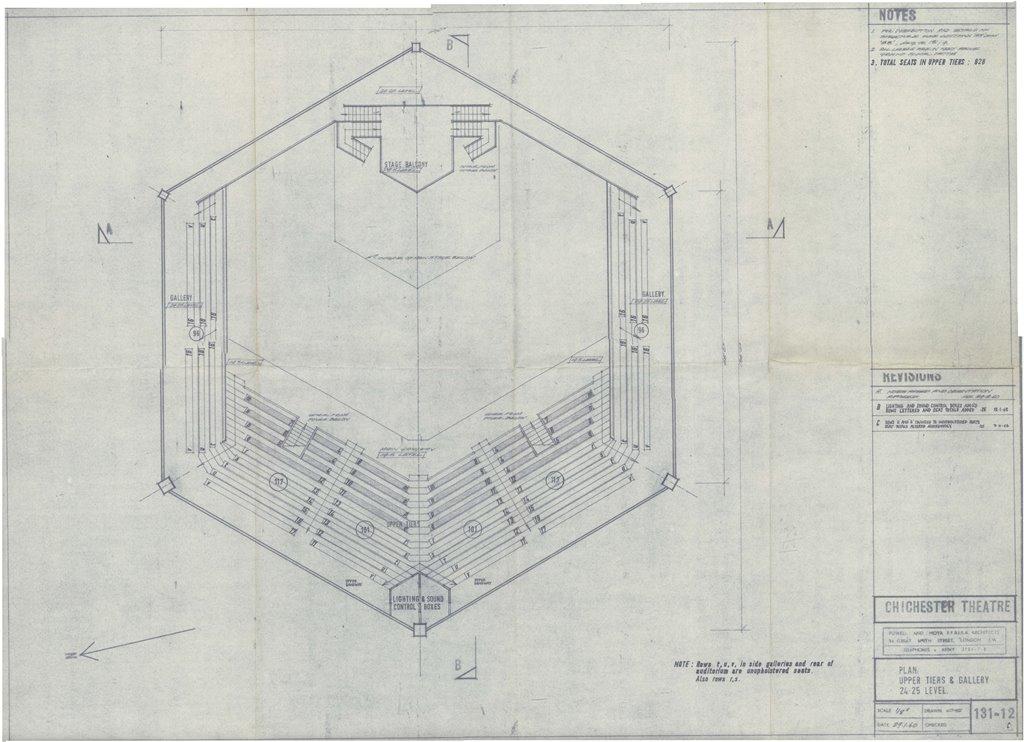 Blueprint Upper Tiers - Powell and Moya - 21 Jan 1960 - CFT WSRO - web ready