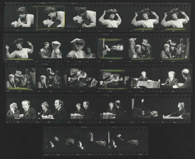 Photograph contact sheet - The Seagull - 1973 - CFT WSRO
