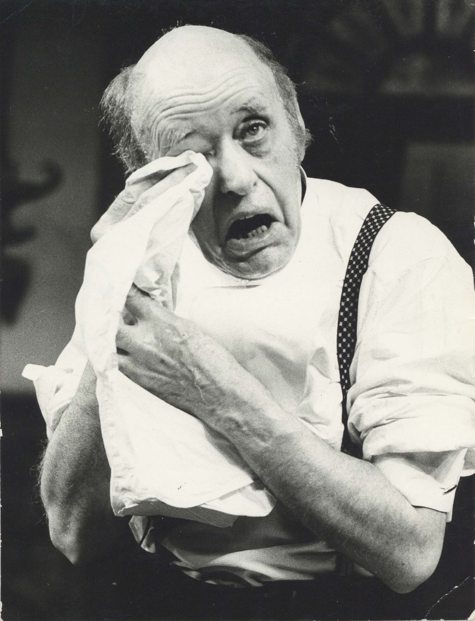 Photograph The Magistrate - Photographer unknown - 1969 - - Alastair Sim - CFT WSRO