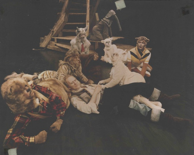 Production photograph - Noah - Gordon Jackson - Photographs by McLeish Associates - 1976 - printed on board - H39 W49