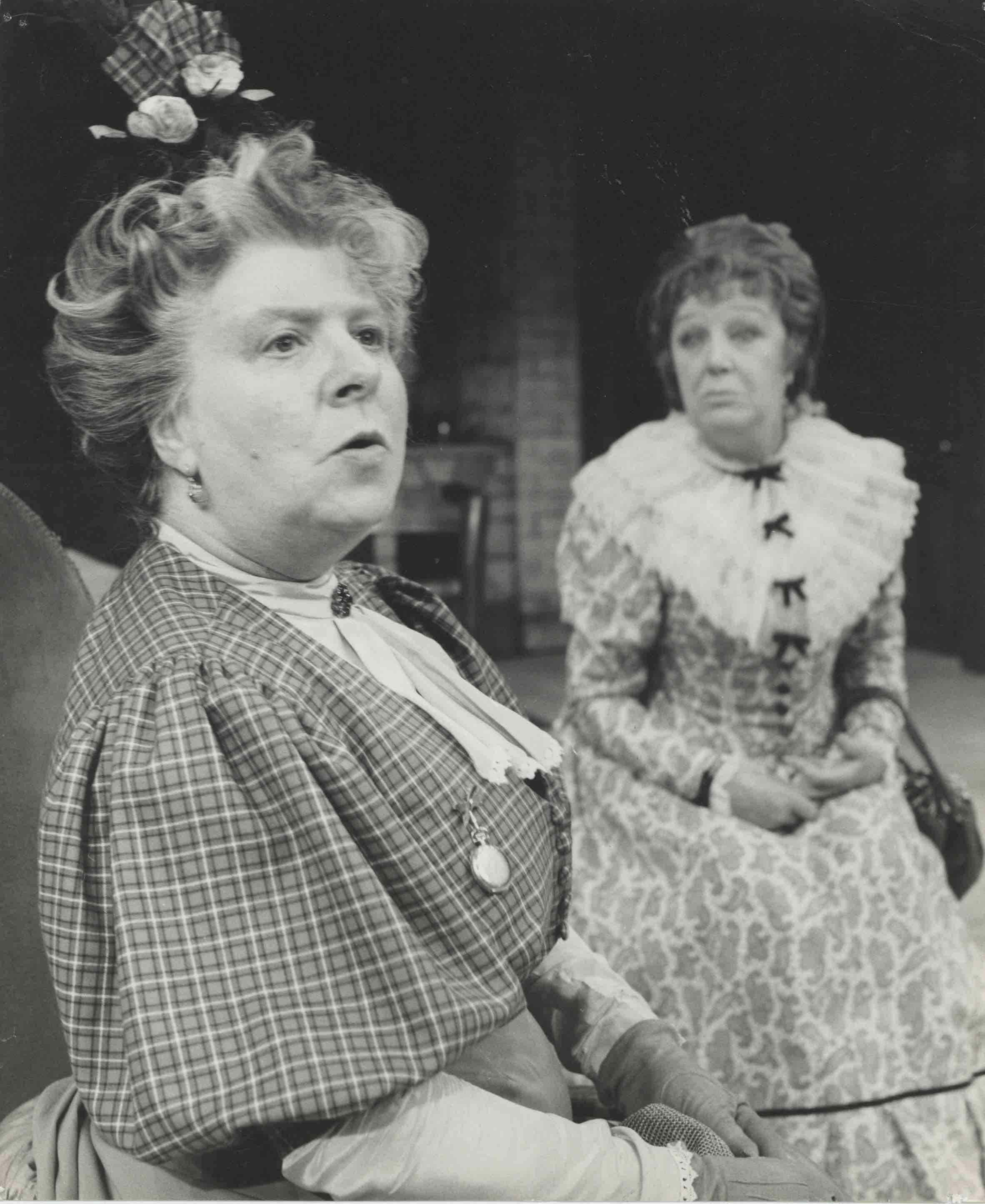 Production photograph - The Farmer's Wife - Irene Handel, Thirza Tapper - Photographer John Timbers - 1967 - WSRO - Dimensions unknown