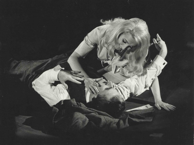 Production photograph - The Skin of our Teeth- Millcent Martin, Clive Revillt - 1968 - WSRO - Dimensions unknown
