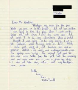 Letter - Terra Nova - Birdham primary school - 22 May 1980 - FE Press cuttings Box 686 - 7 of 8