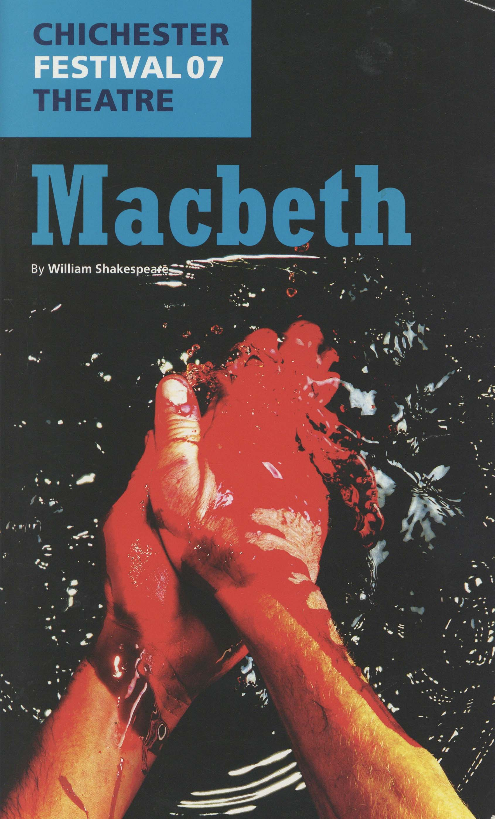 Programme - Macbeth - 2007 - 1 of 44
