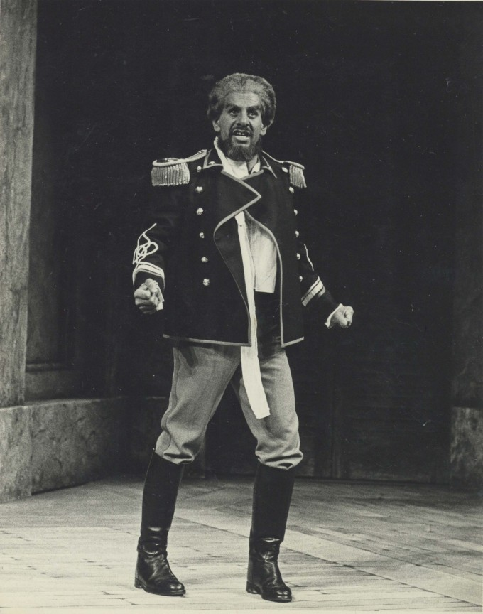 Production Photograph - Othello - Topol - Photographer John Haynes -1975 H25cm W20cm 1 of 2
