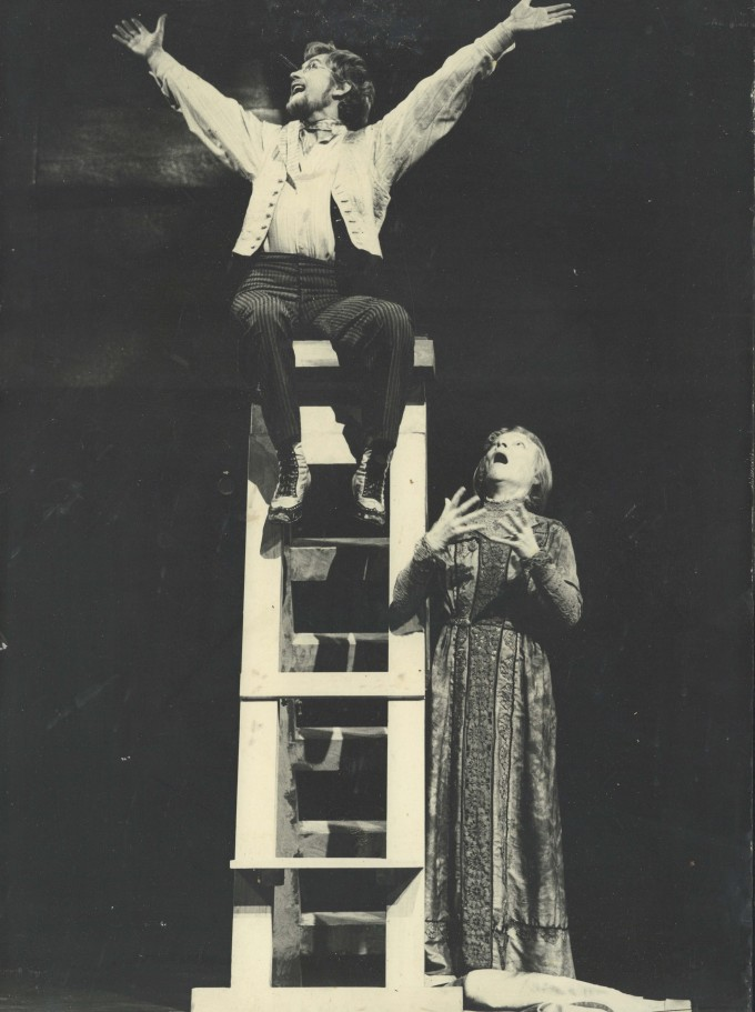 Production photograph - Peer Gynt - Photographer John Timbers - 1970 - printed on board - H50xW35cm