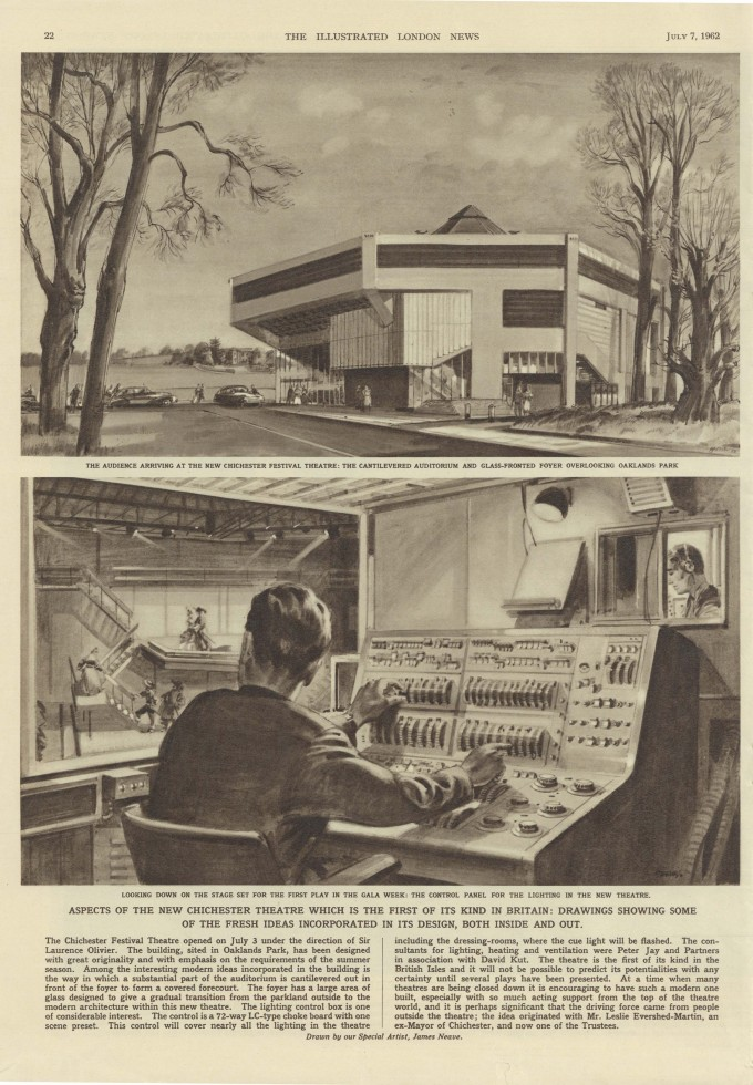 Artist Impression of The Chances - 07 July 1962 - H36.6xW25.7cm - 3 of 3