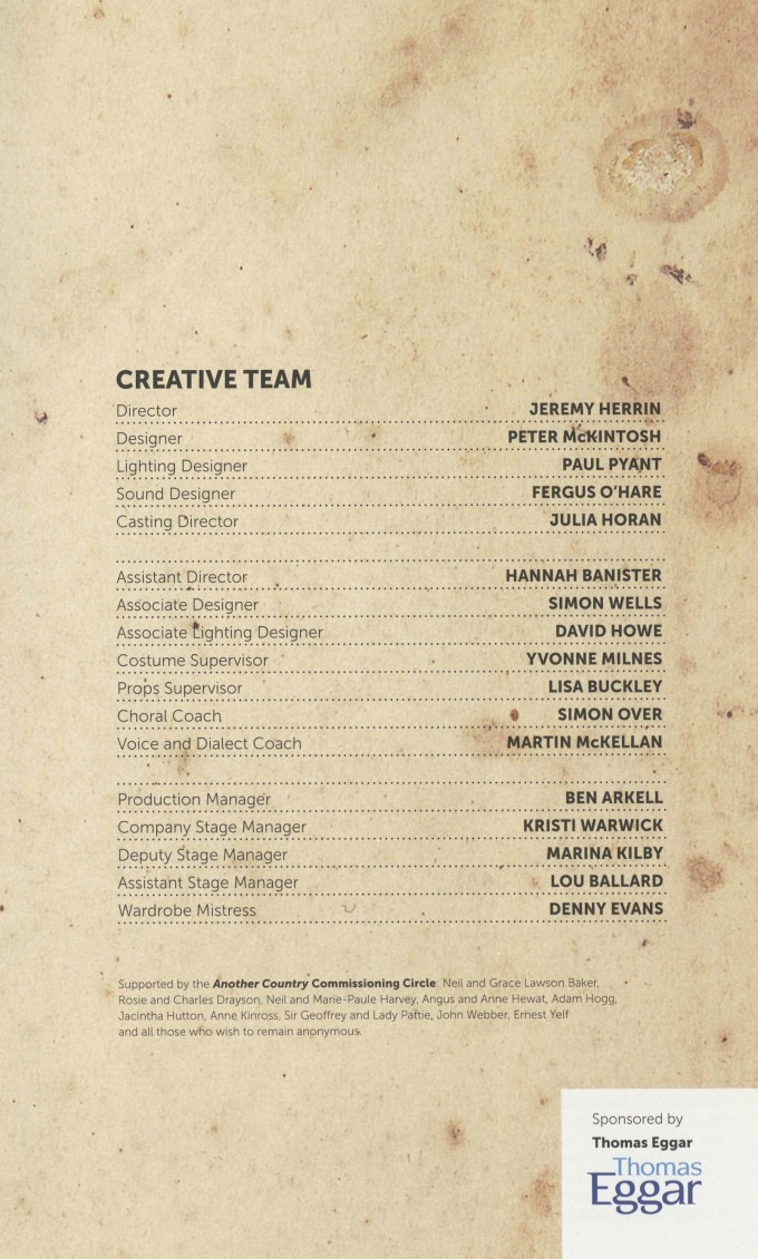Cast List - Another Country - 2013 - 2 of 2