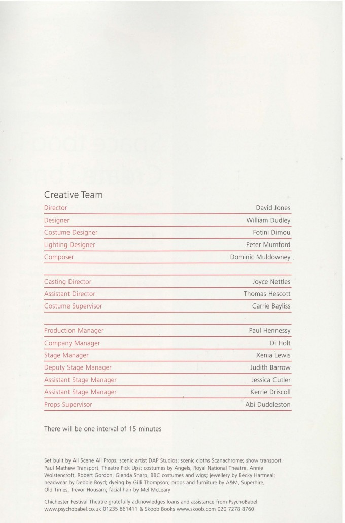 Cast List - The Last Confession - 2007 - 2 of 2
