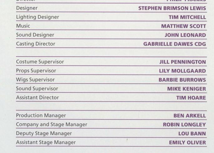 Cast List - The Master Builder - 2010