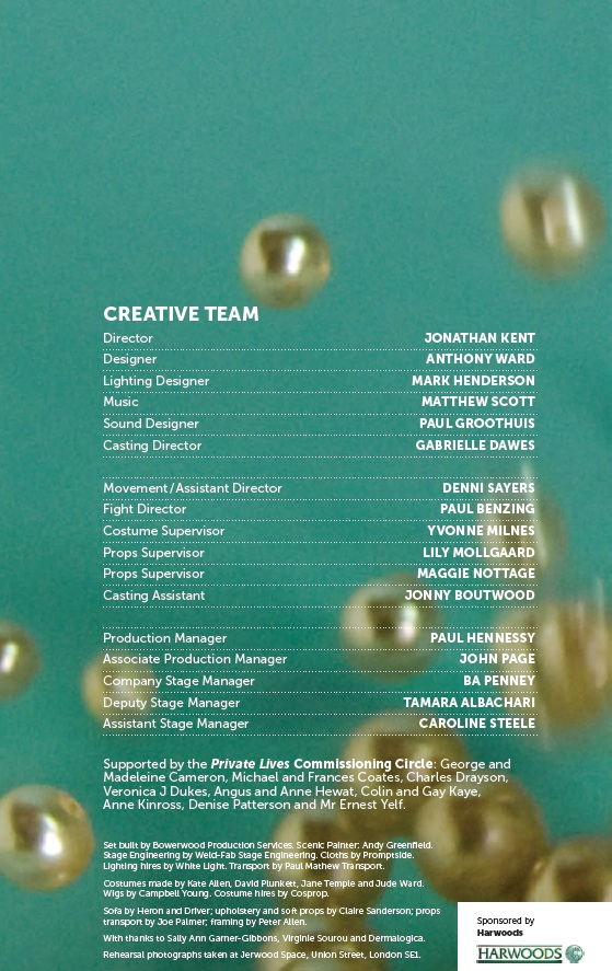 Cast list - Private Lives - 2012 - 2 of 2
