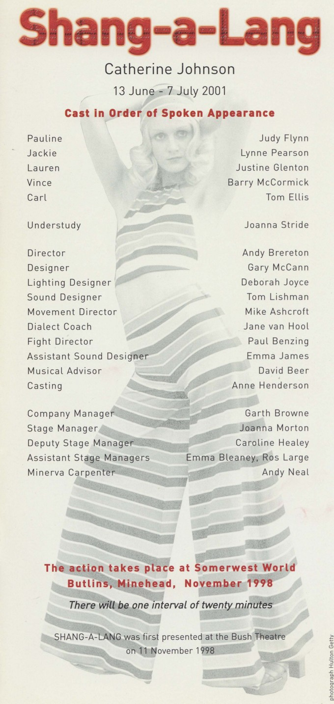 Cast list -  Shang-a-Lang  -  2001