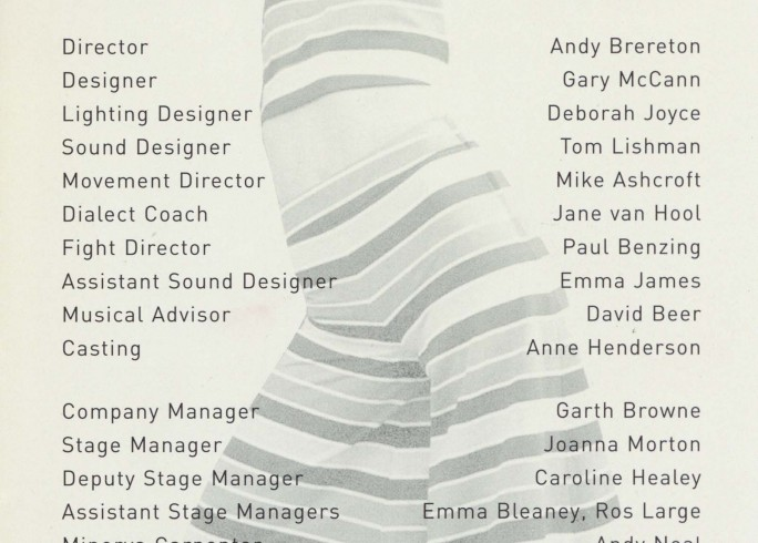 Cast list -  Shang-a-Lang  -  2001