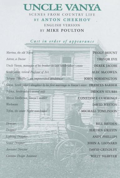 Cast list  -  Uncle Vanya - 1996 - 2 of 2