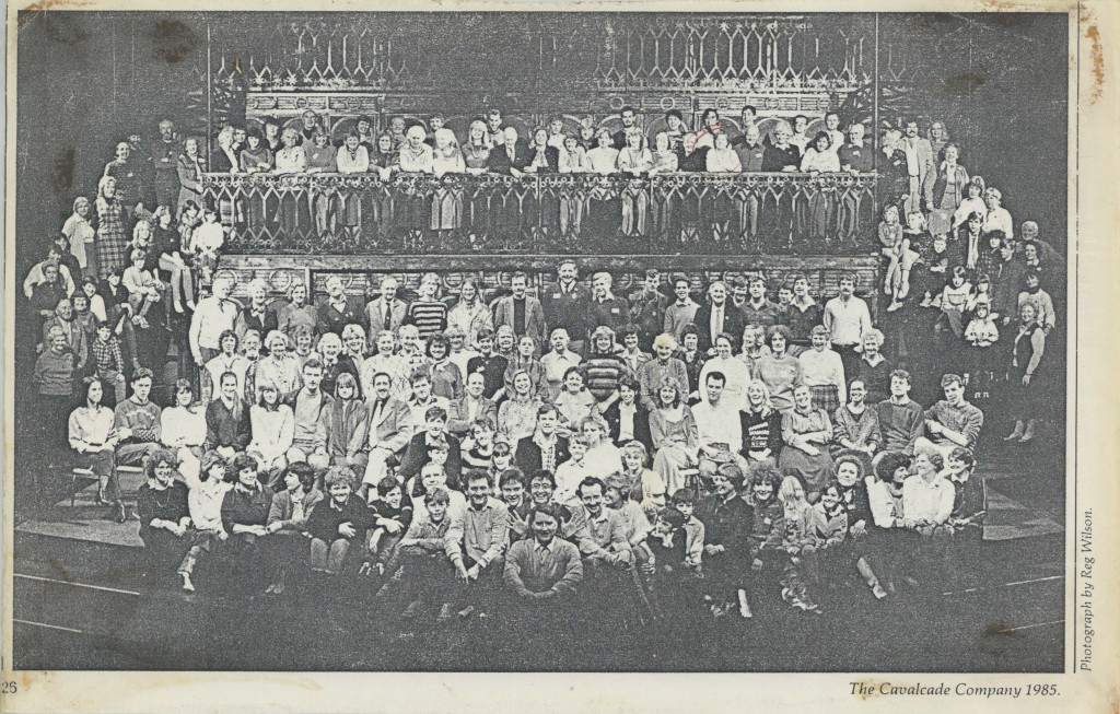 Press cutting photograph - Cavalcade - 1985 - R Ansley Collection