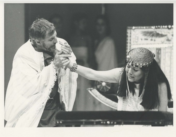 Production Photograph - Antony and Cleopatra - Denis Quilley, Diana Rigg - Photographer Georgia Oetker - 1985 - H20xW25cm 1 of 2