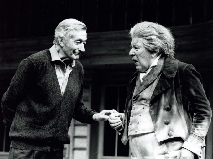 Production Photograph - Beethoven's Tenth - Peter Ustinov, John Neville - Photographer John Timbers - 1996 - H25xW20cm 1 of 2