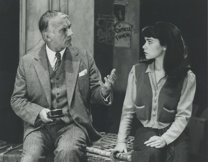 Production Photograph - Elvira '40 - Keith Baxter, Debra Beaumont - Photographer John Timbers -  1993 H20cm W25.5cm - 1 of 2
