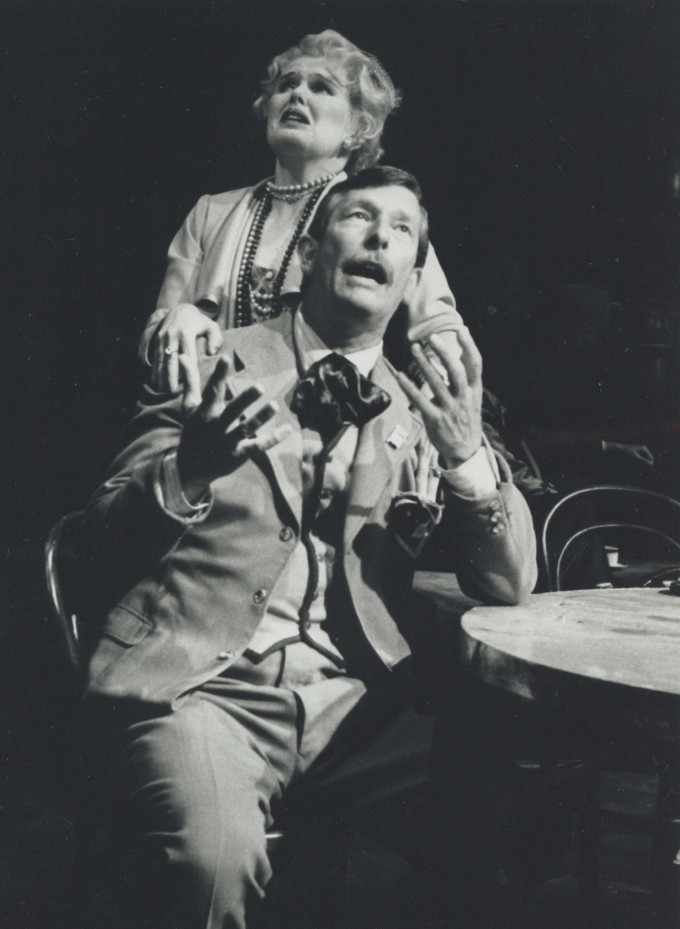 Production Photograph - Eurydice - Ben Aris, Patrica Brake - Photographer John Haynes - 1990 - H24.5 cm W20cm -  1 of 2