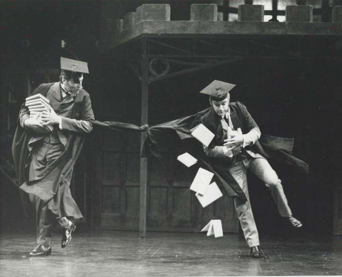 Production Photograph - Goodby Mr. Chips - Robert Meadmore, Richard Freeman - Photographer Reg Wilson -  1982 - H20.5 cm W25.5cm - 1 of 2