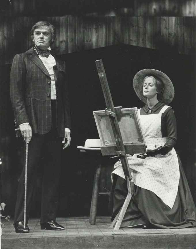 Production Photograph - Jane Eyre - Keith Michell, Jenny Seagrove - Photographer Reg Wilson -  1986 H20.5cm W25.5cm