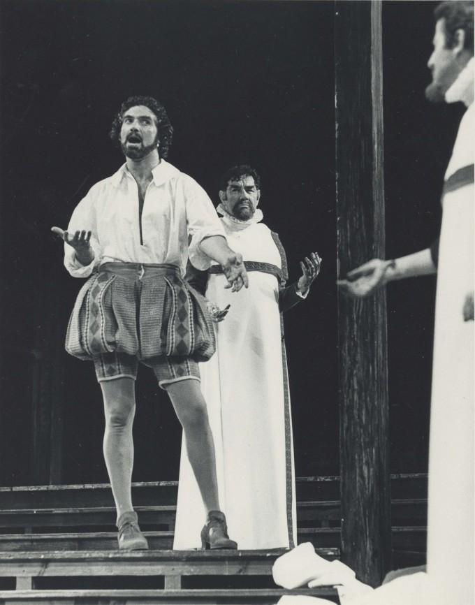 Production Photograph - Julius Caesar - Charles Keating, Paul Hardwick - Photographer Reg Wilson - 1977 - H25.5cm W20.5cm - 1 of 2