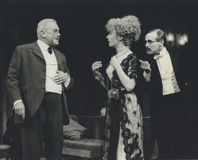 Production Photograph - Look After Lulu - Nigel Stock, Geraldine McEwan, Clive Francis - Photographer John Timbers - 1978 - H20.5 cm W25.5cm - 1 of 2