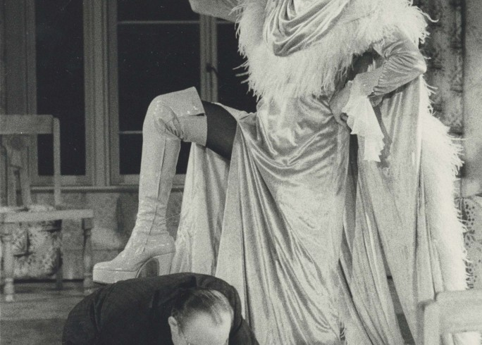 Production Photograph - Made in Heaven - Michael Bates, Kenneth Nelson - Photographer John Timbers -  1975 - H25.5 cm  W20.5cm - 1 of 2