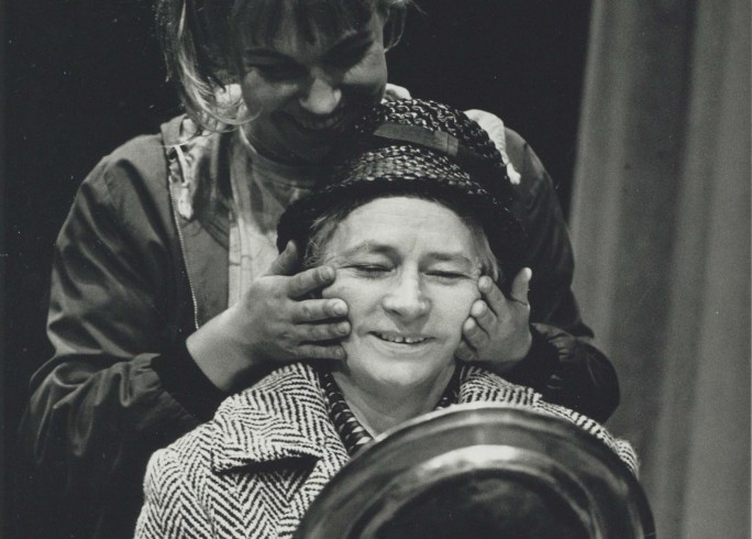 Production Photograph - My Mother Said I Never Should - Joanna Riding, Madeline Blakeney - Photographer Paul Carter - 1990 - H21.5cm W16cm -   1 of 2