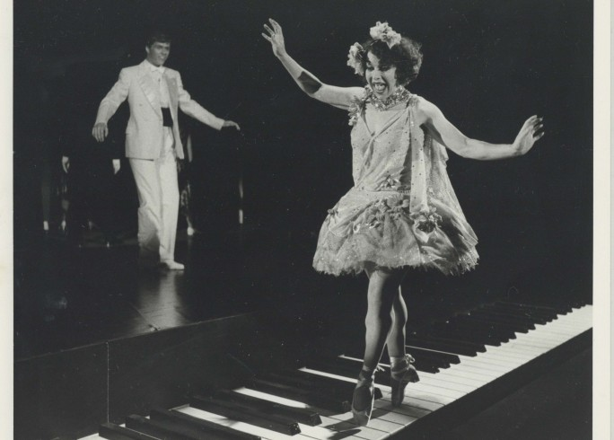 Production Photograph - Oh Kay! - Geoff David, Myra Sands - Photographer Reg Wilson - 1984 - H20.5cm W25.5cm - 1 of 2
