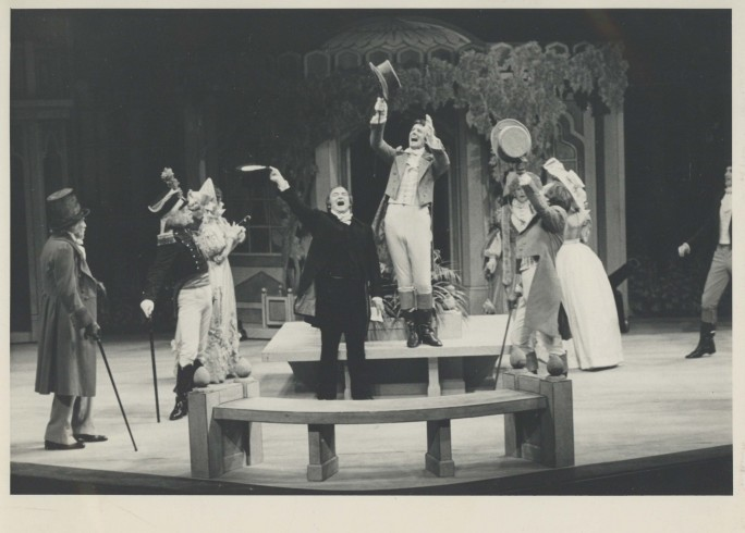Production Photograph - Old Heads and Young Hearts - Photographer Reg Wilson - 1980 - H19.5cm W25cm - 1 of 2
